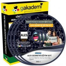 ALES Geometri Konu Anlatımlı Görüntülü Eğitim Seti 14 DVD