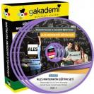 ALES Matematik Konu Anlatımlı Görüntülü Eğitim Seti 24 DVD