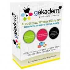 ALES Sayısal Yetenek Görüntülü Eğitim Seti 74 DVD