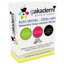 ALES Tüm Dersler Hapı Görüntülü Eğitim Seti 99 DVD