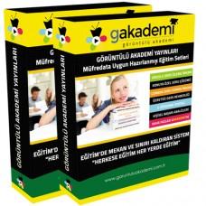 ALES Sözel Yetenek Görüntülü Eğitim Seti 22 DVD