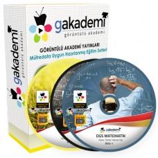 DGS Çözümlü Soru Bankası Eğitim Seti 59 DVD