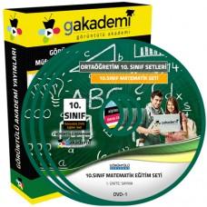 10.Sınıf Matematik Görüntülü Eğitim Seti 9 DVD
