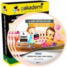 İlköğretim 3. Sınıf Hayat Bilgisi Görüntülü Eğitim Seti 5 DVD