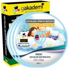 Çocuklar İçin İngilizce Görüntülü Eğitim Seti 9 DVD
