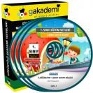 İlköğretim 1. Sınıf Hayat Bilgisi Görüntülü Eğitim Seti 3 DVD