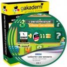 İlköğretim 1. Sınıf Matematik Görüntülü Eğitim Seti 3 DVD