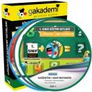 İlköğretim 1. Sınıf Tüm Dersler Görüntülü Eğitim Seti 10 DVD