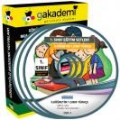 İlköğretim 1. Sınıf Türkçe Görüntülü Eğitim Seti 4 DVD