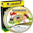 İlköğretim 2. Sınıf Hayat Bilgisi Görüntülü Eğitim Seti 3 DVD
