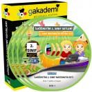 İlköğretim 2. Sınıf Matematik Görüntülü Eğitim Seti 5 DVD
