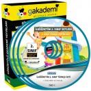 İlköğretim 2. Sınıf Türkçe Görüntülü Eğitim Seti 8 DVD