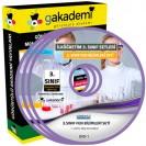İlköğretim 3. Sınıf Fen Bilimleri Görüntülü Eğitim Seti 5 DVD