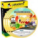 İlköğretim 3. Sınıf Matematik Görüntülü Eğitim Seti 7 DVD