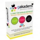İlköğretim 3.Sınıf Tüm Dersler Görüntülü Eğitim Seti 27 DVD