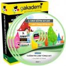 İlköğretim 3. Sınıf Türkçe Görüntülü Eğitim Seti 8 DVD
