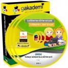 İlköğretim 4. Sınıf Türkçe Görüntülü Eğitim Seti 8 DVD
