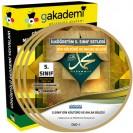 İlköğretim 5. Sınıf Din Kültürü ve Ahlak Bilgisi Görüntülü Eğitim Seti 4 DVD