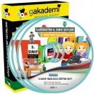 İlköğretim 5. Sınıf İngilizce Görüntülü Eğitim Seti 8 DVD