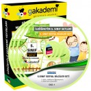 İlköğretim 5. Sınıf Sosyal Bilgiler Görüntülü Eğitim Seti 7 DVD