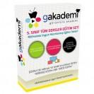 İlköğretim 5. Sınıf Tüm Dersler Görüntülü Eğitim Seti 40 DVD