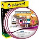 İlköğretim 5. Sınıf Türkçe Görüntülü Eğitim Seti 8 DVD