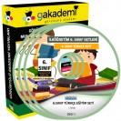 İlköğretim 6.Sınıf Türkçe Görüntülü Eğitim Seti 12 DVD