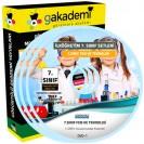 İlköğretim 7.Sınıf Fen ve Teknoloji Görüntülü Eğitim Seti 7 DVD