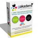 İlköğretim 7.Sınıf Tüm Dersler Görüntülü Eğitim Seti 45 DVD
