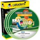 İlköğretim 7.Sınıf Türkçe Görüntülü Eğitim Seti 8 DVD