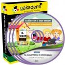 İlköğretim 8. Sınıf T.C. İnkılap Tarihi ve Atatürkçülük Görüntülü Eğitim Seti 14 DVD