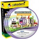 8.Sınıf Türkçe Görüntülü Eğitim Seti 8 DVD