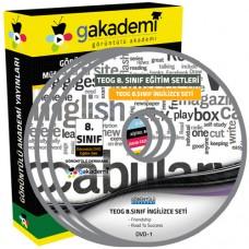 TEOG 8. Sınıf İngilizce Görüntülü Eğitim Seti 9 DVD