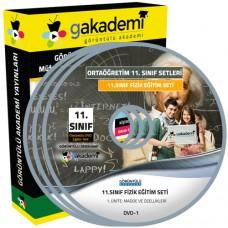 11.Sınıf Fizik Görüntülü Eğitim Seti 6 DVD