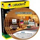 11.Sınıf Türk Edebiyatı Görüntülü Eğitim Seti 6 DVD