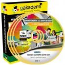 12.Sınıf Geometri Görüntülü Eğitim Seti 4 DVD