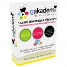 Lise 12.Sınıf Tüm Dersler Görüntülü Eğitim Seti 55 DVD