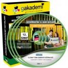 12.Sınıf Türk Edebiyatı Görüntülü Eğitim Seti 5 DVD