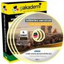 6.Sınıf Sosyal Bilgiler Görüntülü Eğitim Seti 7 DVD