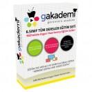 İlköğretim 6.Sınıf Tüm Dersler Görüntülü Eğitim Seti 42 DVD