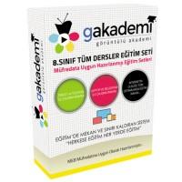 İlköğretim 8.Sınıf Tüm Dersler Görüntülü Eğitim Seti 51 DVD