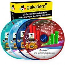 KPSS A İktisat Eğitim Seti 29 DVD