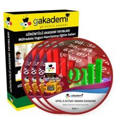 KPSS A İktisat Makro Ekonomi Eğitim Seti 9 DVD