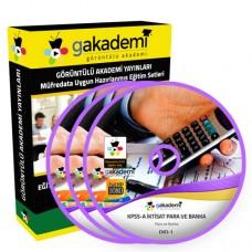 KPSS A İktisat Para ve Banka Eğitim Seti 3 DVD