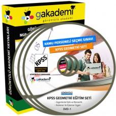 KPSS Geometri Görüntülü Eğitim Seti 12 DVD