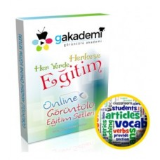 Çocuklar İçin İngilizce Online Görüntülü Eğitim Seti
