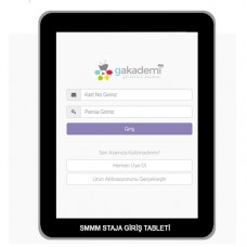 SMMM Staja Giriş Eğitim Tableti
