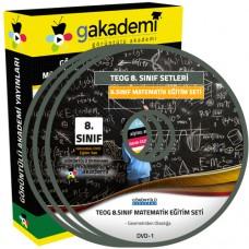 TEOG 8.Sınıf Matematik Görüntülü Eğitim Seti 8 DVD