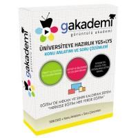 Üniversiteye Hazırlık YGS ve LYS Tüm Dersler Görüntülü Eğitim Seti 508 DVD