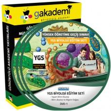 YGS Biyoloji Görüntülü Eğitim Seti 18 DVD